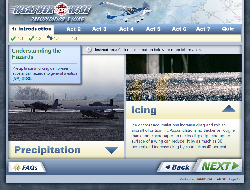 WeatherWise Precipitation and Icing - Course Intro
