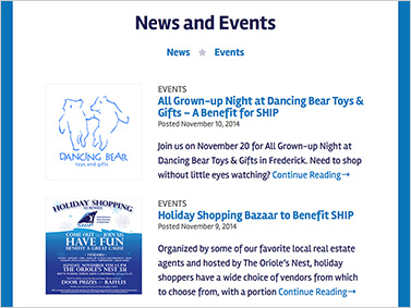 SHIP - News and Events Page