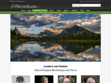 NatureScapes Workshops and Tours - Leaders and Guides